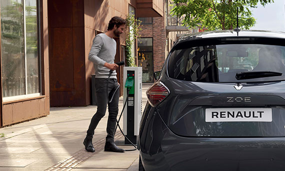 Charge points across the UK